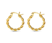 Simplicity Thalis Earrings 18k Gold Plated