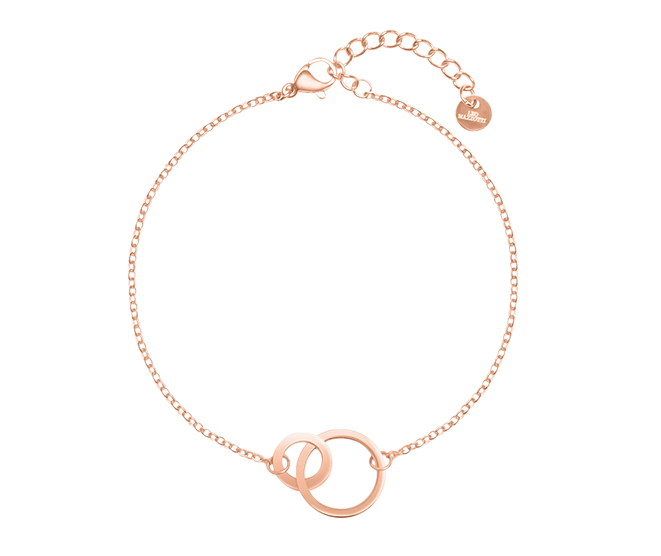 Unity Bracelet 18k Rose Gold Plated