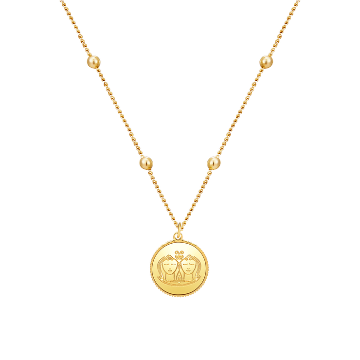 Zodiac Astra Gemini Necklace