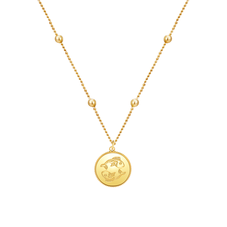 Zodiac Astra Pisces Necklace