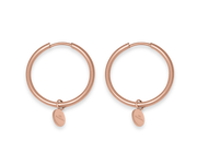 Iconic Muse Earrings 18k Rose Gold Plated
