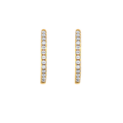 Eternity Elsie Earrings 18k Gold Plated