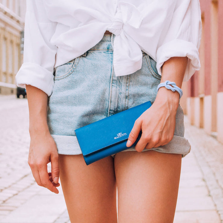 Casual Wallet Blue