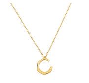 Simplicity Luna Necklace 18k Gold Plated
