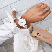 Pure White - Leather White