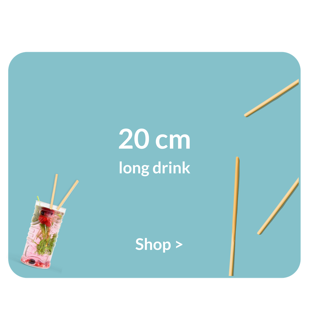 Biodegradable   Straws Long Drinks