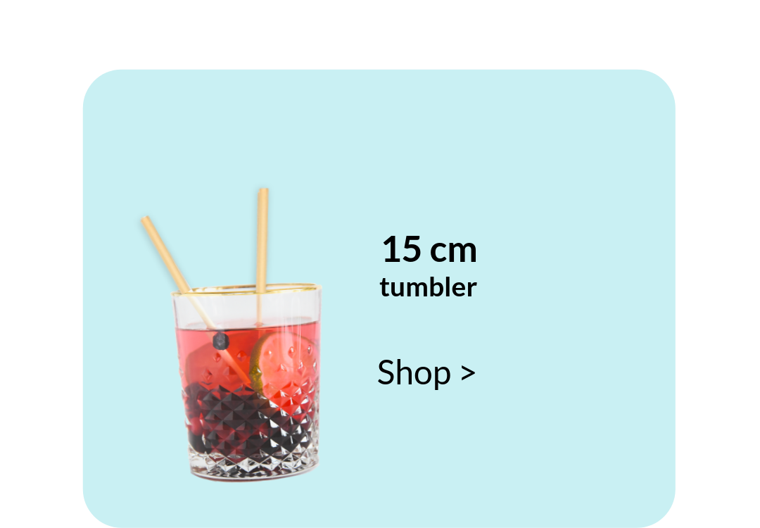 Biodegradable Straws Tumblers