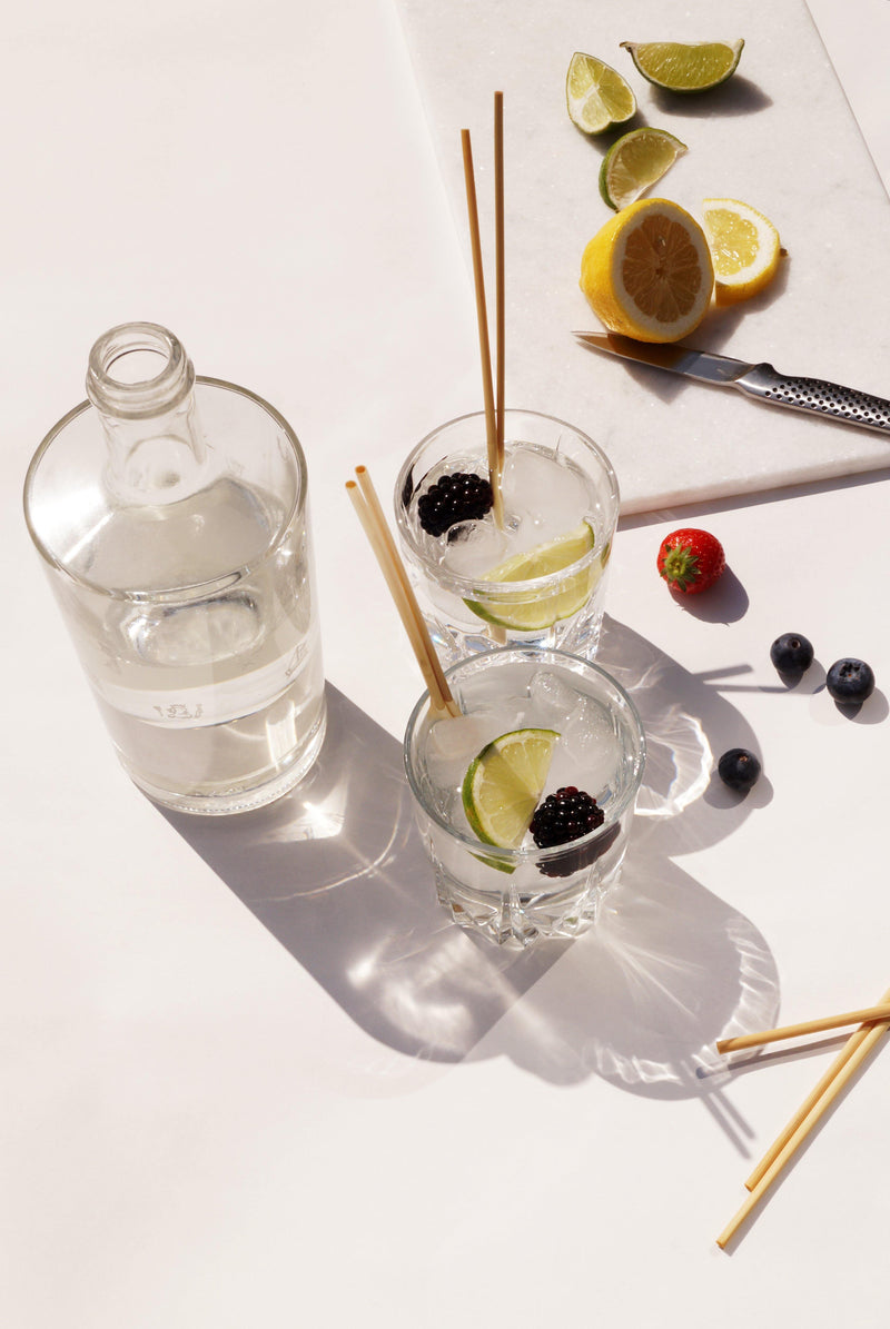 Biodegradable Straw Straws - Long Drink Size (20 cm)