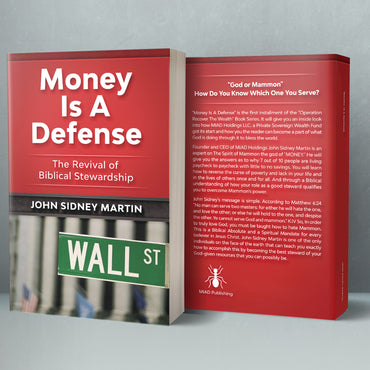 Money Is A Defense Self Study Course (COMING SOON)