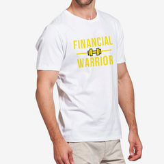 Financial Warrior Heavy Cotton Adult T-Shirt WHITE