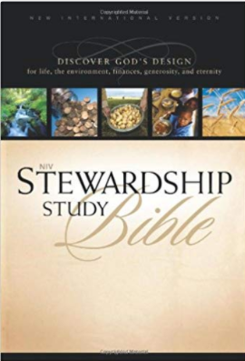 NIV Stewardship Study Bible: Discover God's Design for Life, the Environment, and Finances