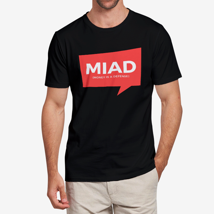 MIAD Logo #44 Adult T-Shirt