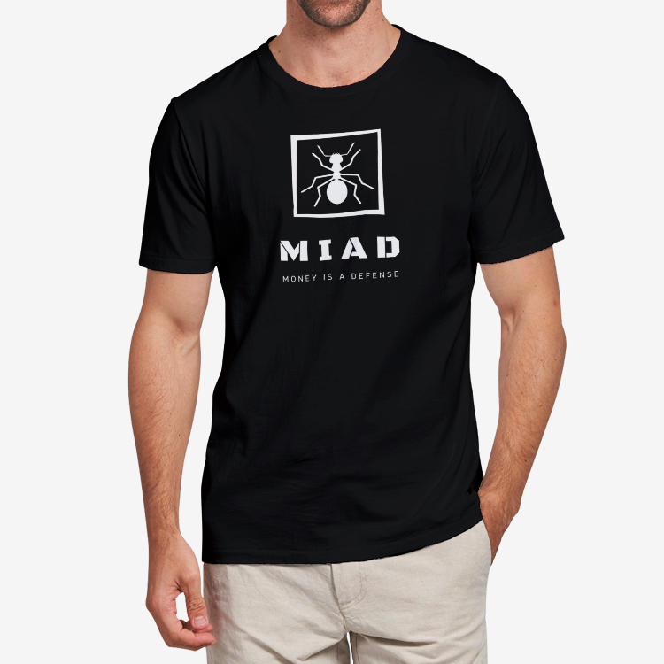 MIAD logo #46 Adult T-Shirt