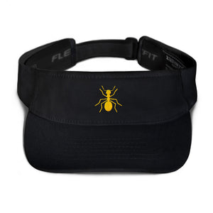 "Yellow ""ANT"" Visor - Money Is A Defense"