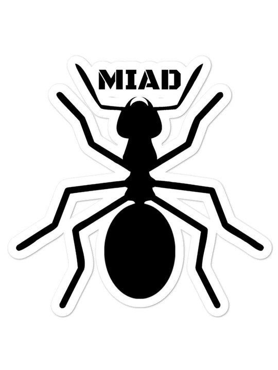 MIAD ANT Bubble-free stickers