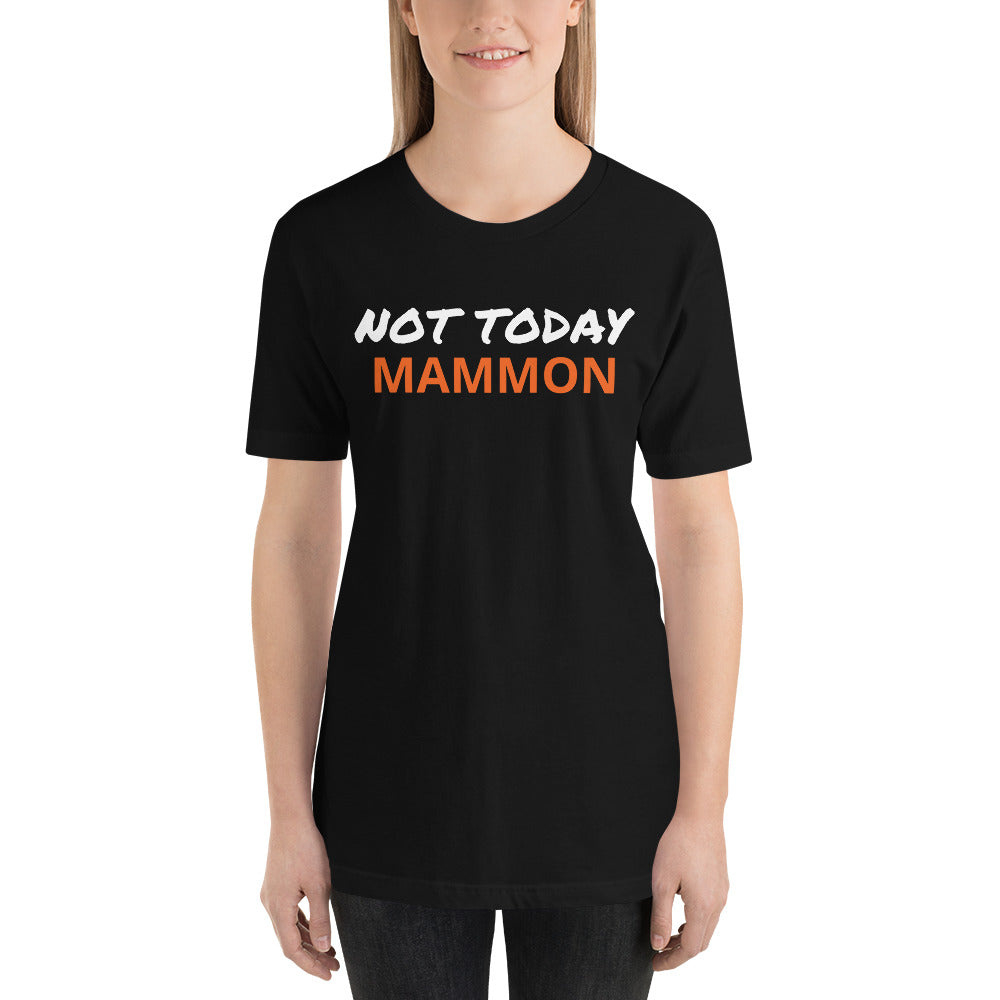 Short-Sleeve Unisex T-Shirt - Money Is A Defense