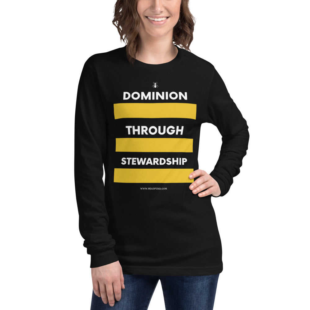 DTS Long Sleeve Tee - Money Is A Defense