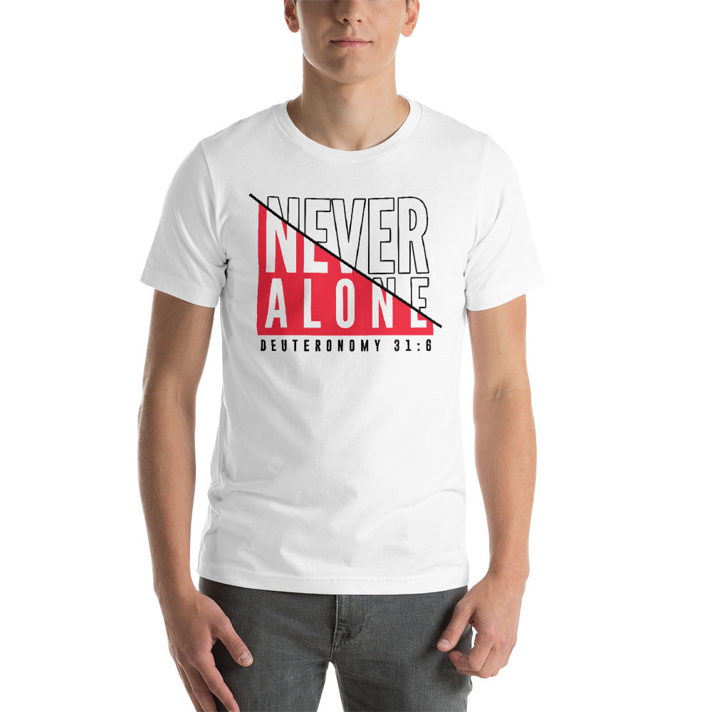 Never Alone Short-Sleeve T-Shirt
