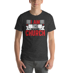 I Am The church Red Short-Sleeve T-Shirt