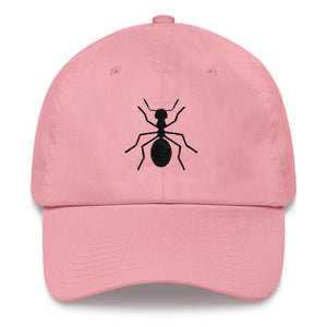 "Unstructured Blk ""ANT"" Cap - Money Is A Defense"