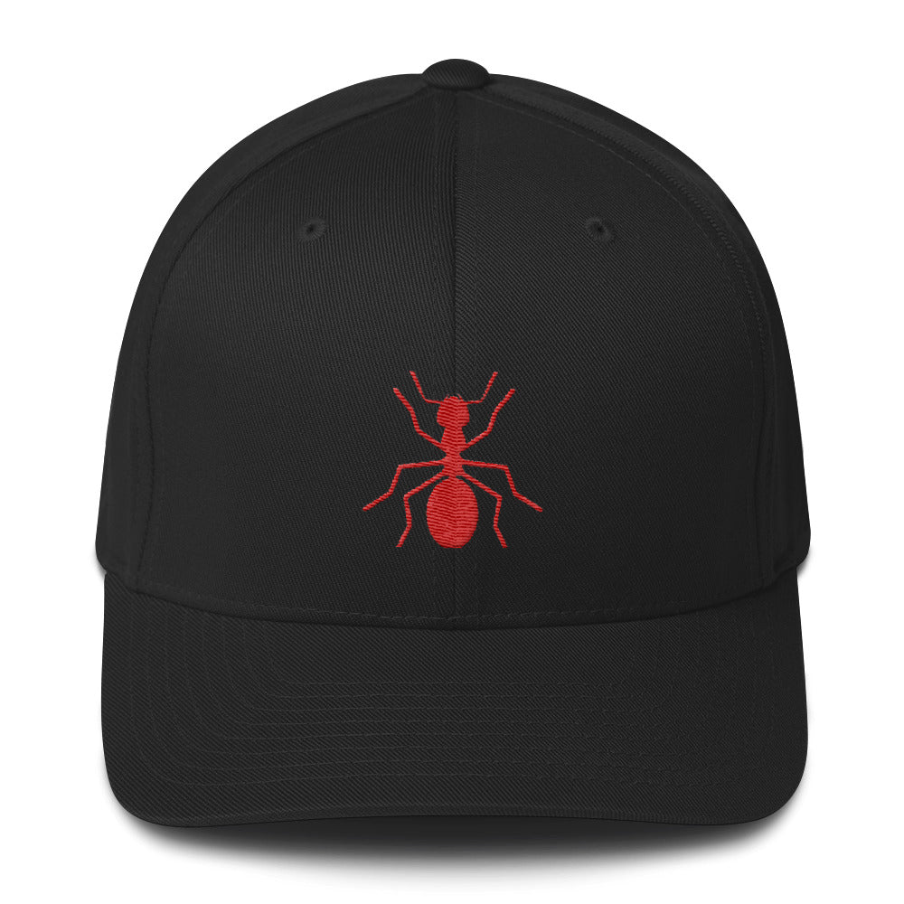Structured FLEXFIT Ant Cap - Money Is A Defense