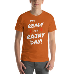 RAINY DAY Short-Sleeve Unisex T-Shirt - Money Is A Defense