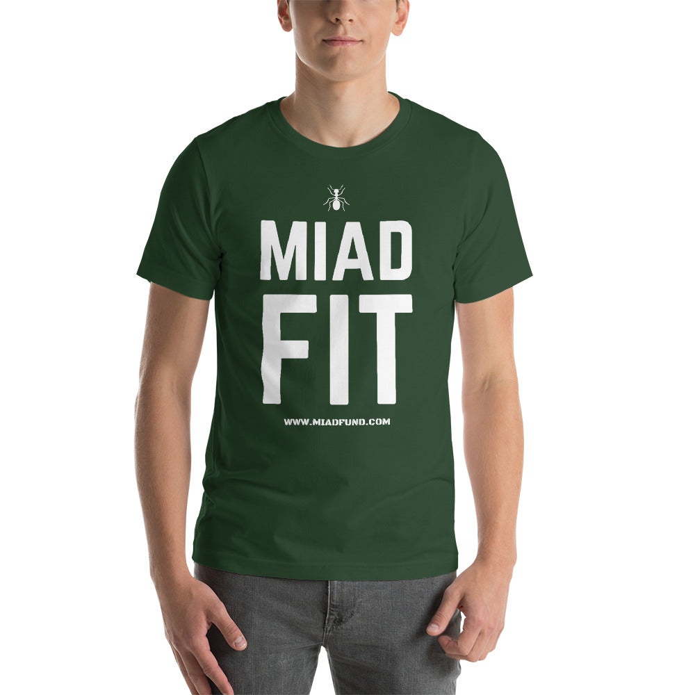 MIAD FIT Short-Sleeve Unisex T-Shirt - Money Is A Defense