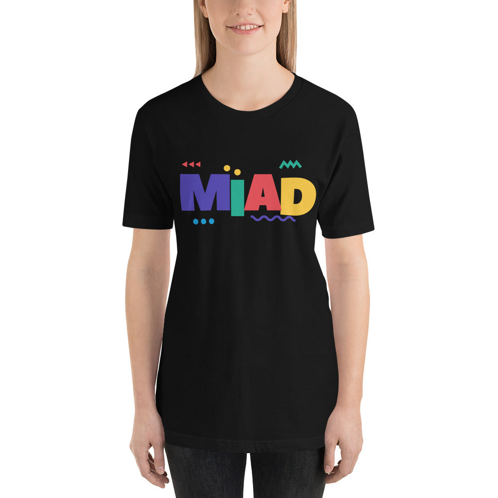 MIAD Short-Sleeve Unisex T-Shirt - Money Is A Defense