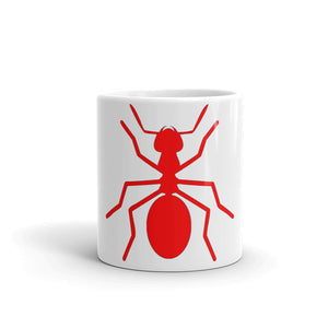 Coffee Mug (Red Ant) - Money Is A Defense