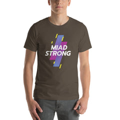 MIAD STRONG Short-Sleeve Unisex T-Shirt - Money Is A Defense