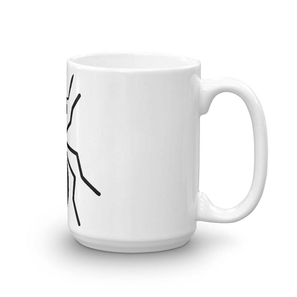 Coffee Mug (Blk Ant) - Money Is A Defense