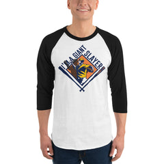 Giant Slayer 3/4 sleeve raglan shirt