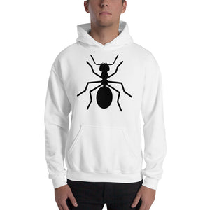 "Hooded Blk ""ANT"" Sweatshirt - Money Is A Defense"