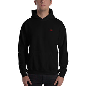 "Hooded Red ""ANT"" Sweatshirt - Money Is A Defense"