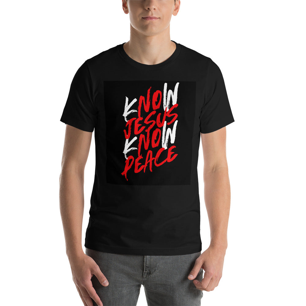 Know Jesus Know Peace #1 Short-Sleeve T-Shirt