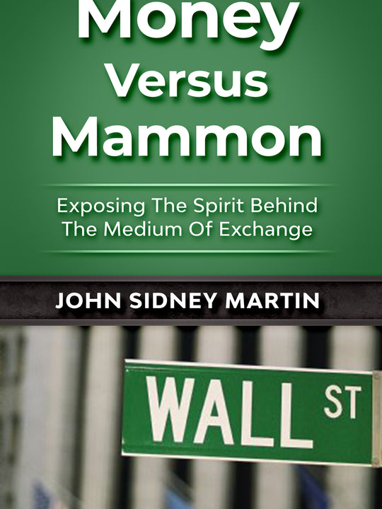 PREORDER - MONEY VERSUS MAMMON
