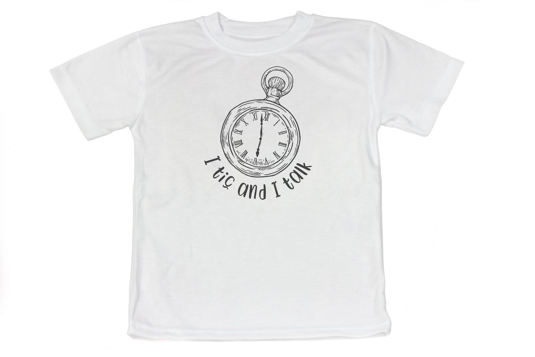 Tic & Talk Watch Shirt - Ever Grey Designs