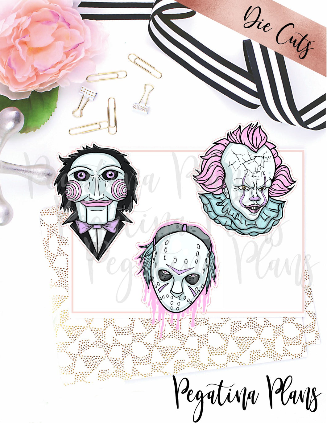 Deadly Trio Die Cuts