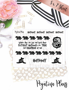 Harry Potter _ Hufflepuff Washi  _  ** FOILED**