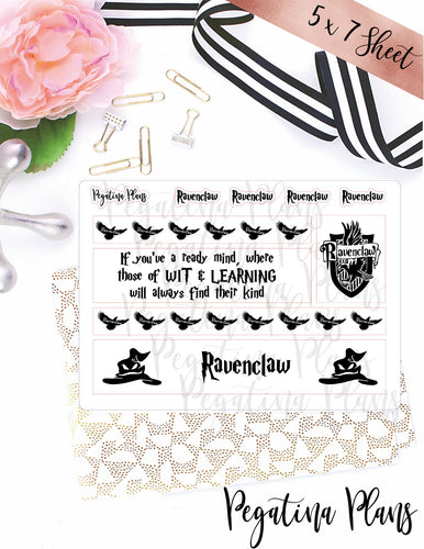 Harry Potter _ Ravenclaw Washi  _  ** FOILED**