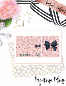 Back to School Babe Bows _ Quarter Size Album