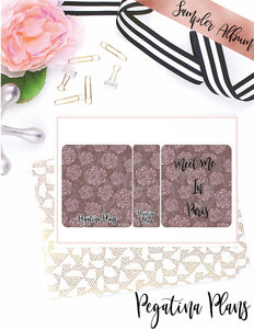 Planner Chicks in Paris  _ Complete Bundle
