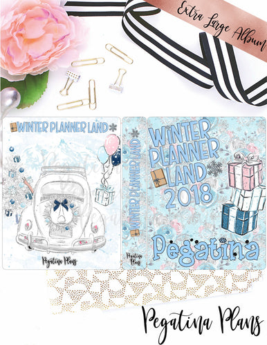Winter Planner Land 2018  _ Complete Bundle