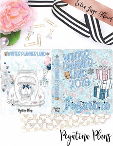 Winter Planner Land 2018 _ Extra Large  Album