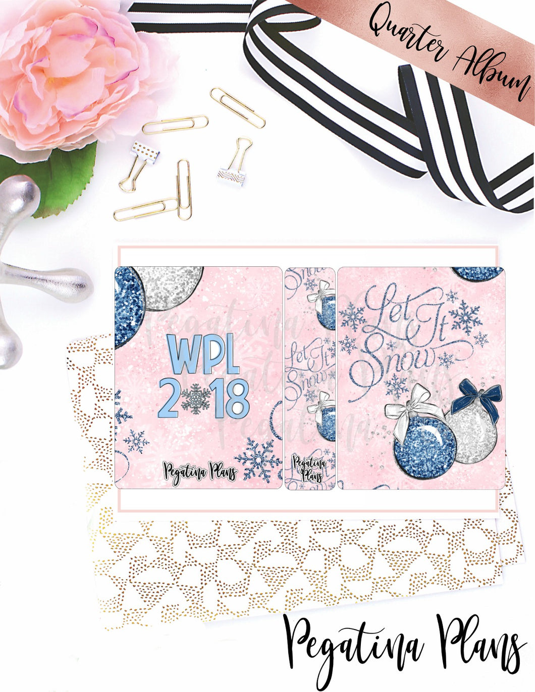 Winter Planner Land 2018  _ Quarter Size album