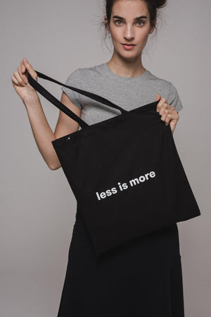 "NON02 Textilszatyor ""less is more"""