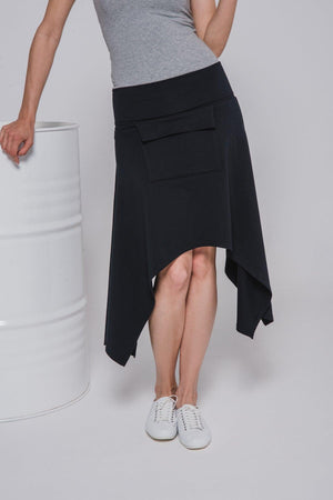 NON103 Skirt with front pocket