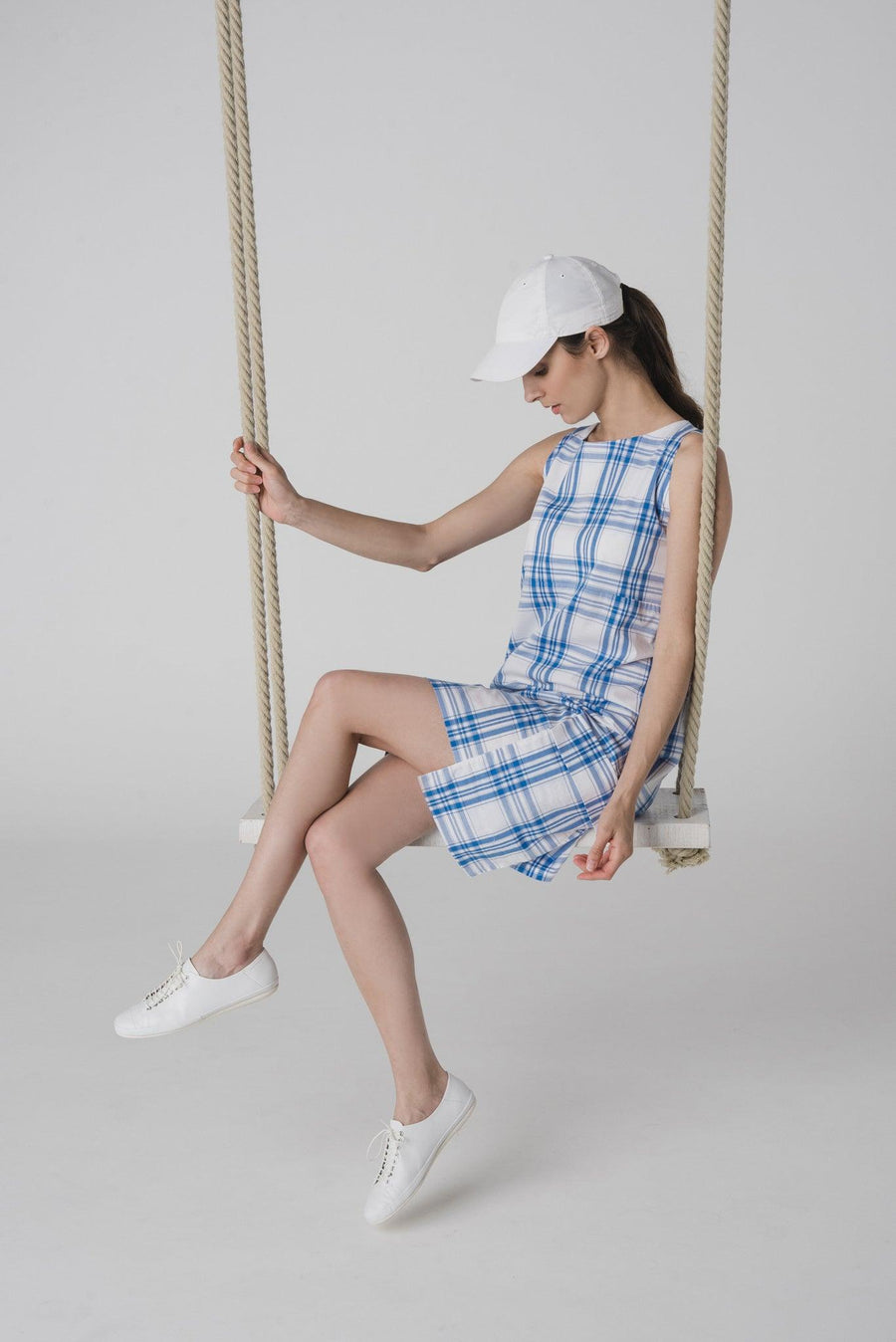 NON338 A-line small dress with pockets