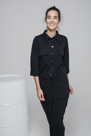 NON340 Jumpsuit with 4 pockets