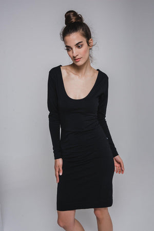 NON392 Low-cut dress